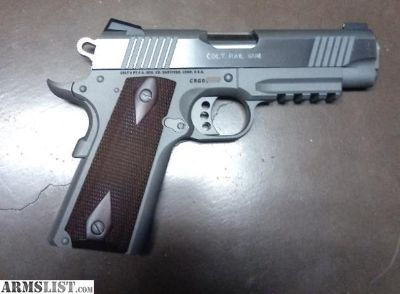 For Sale: Price reduced! Colt Rail Gun Commander .45acp
