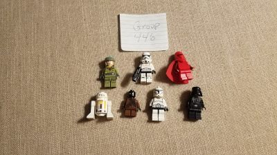 7 Star Wars Minifigs Group 446
