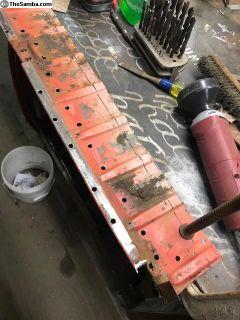 Rear Luggage Area Sheetmetal, narrow hatch, 55-63