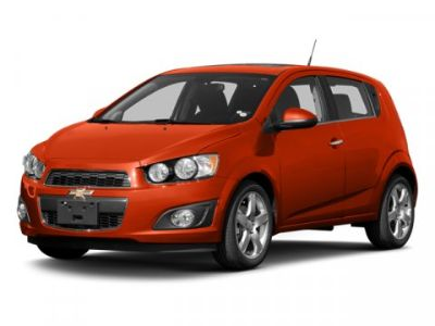 2013 Chevrolet Sonic LT (Inferno Orange Metallic)