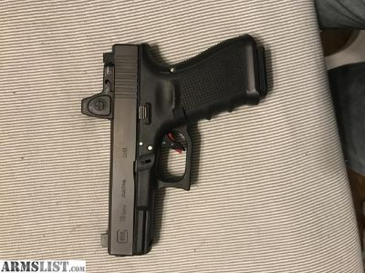 For Sale: Glock 19 with rmr for AR