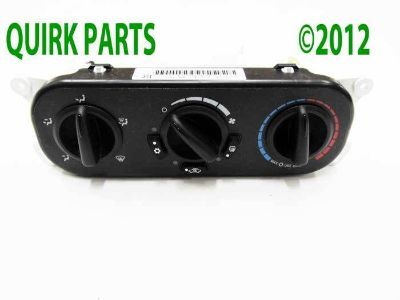 Purchase 2007-2010 Jeep Wrangler A/C Heater Control Unit Module MOPAR GENUINE OEM NEW motorcycle in Braintree, Massachusetts, US, for US $117.00