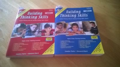 Building Thinking Skills Leve 1 and Level 2 (Critical Thinking Skills for Reading Writing Ma...