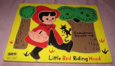 Sifo Little Red Riding Hood 13 Pcs. Puzzle