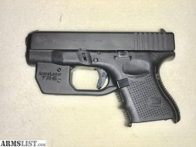 For Sale: Glock 26 gen 4 with laser