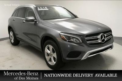 2018 Mercedes-Benz GLC (Selenite Grey Metallic)