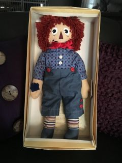 Limited Edition Raggedy Andy doll