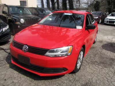 2012 Volkswagen Jetta Base (Red)
