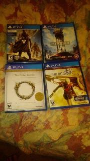 Looking to trade PS4 games