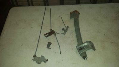 Sell mopar 70 dodge 69 b-body driver left door internal charger lock rods latch 1970 motorcycle in Bay Village, Ohio, United States, for US $170.70