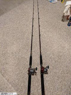 For Sale: Saint Croix 7' rods&Penn Reels