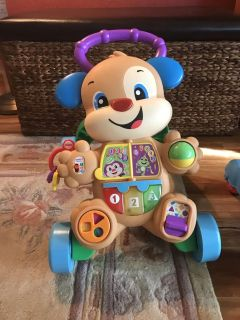 Fisher-Price Laugh & Learn Smart Stages Learn with Puppy Walker
