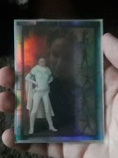 star wars collectible card of star wars attack of the clones