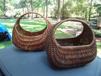 Vtg European Market Baskets