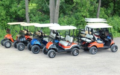 Yamaha, Club Car, EZGO Golf Carts, Street Ready, Gas & Electric