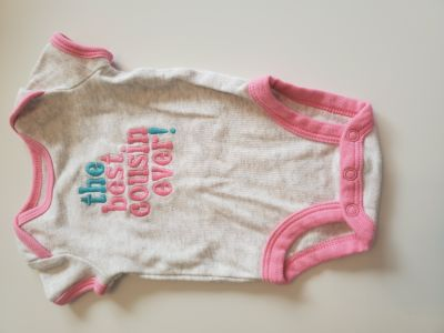 """Adorable """"The Best Cousin Ever"""" Onesie by Carter's"""
