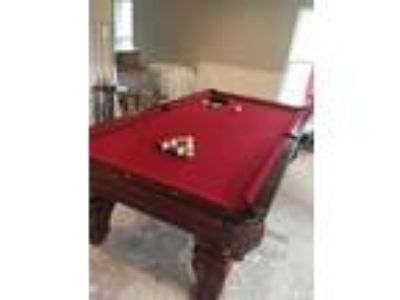 Murrey Pool Table and accessories