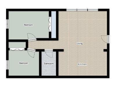 2 bedroom in Niles