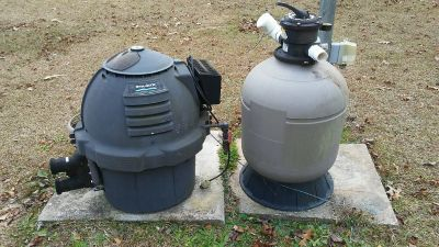 Pool Heater and Pump