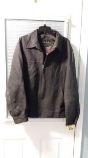 Men's leather jacket SZ L. Used conditions