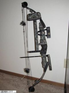 For Sale: PSE Polaris Game Sport Mossy Oak Compound Bow