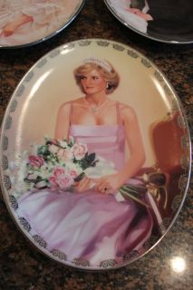 Bradford Exchange Plate Collection / Diana - Queen of our Hearts