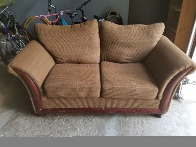 Free loveseat couch