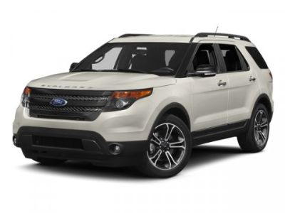 2013 Ford Explorer Sport (Red)
