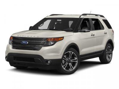 2013 Ford Explorer Sport (White Platinum Metallic Tri Coat)
