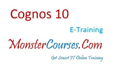 Cognos 10.2.1 Online Training, IBM Cognos Online Training.