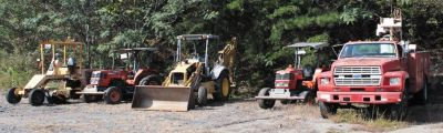 Government Surplus Auction - Heavy Equip., Cars, Trucks, Office Furniture & More!