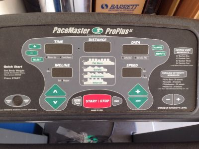 Treadmill - Pacemaster Proplus II