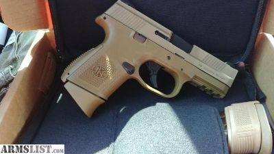 For Sale: FN FNS-9C FDE (Brand new in Box)