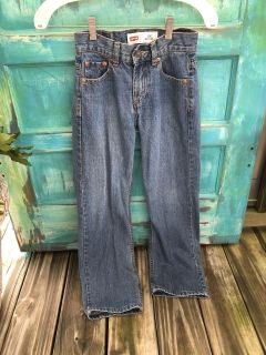 Levi s 10 Slim waist 23 length 25 jeans-550 Relaxed for boy or girl-(b110)