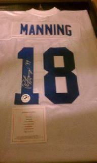 $350 Limited Edition Authentic Peyton Manning Autographed Jersey (Orem, Utah)