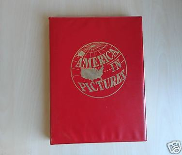 America In Pictures,416 Pages Book,All About America History Story In Pictures And Captions,