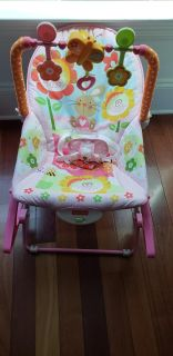 Fisher Price baby seat and rocking chair