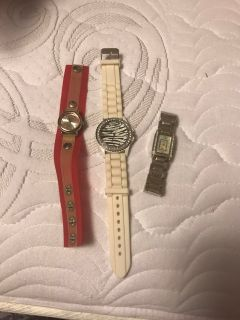 Watches. All need batteries. Pick up at McCalla Target on Thursday s from 5:15 till 6. Cp.