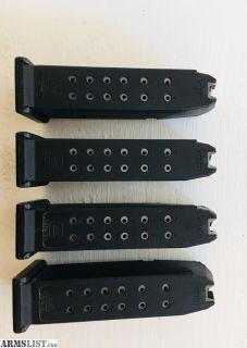 For Sale: Glock 19 gen 4 mags