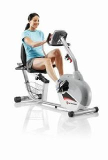 """Like New"" Schwinn 240 Recumbent Exercise Bike"