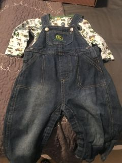 9-12 Month John Deere Outfit