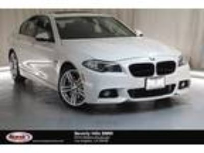 Used 2016 BMW 5 Series White, 41.7K miles