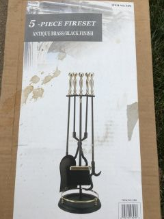 Inside or outside fire place tools 1 NEW 1 used