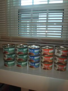 15 Cans of Cat Food