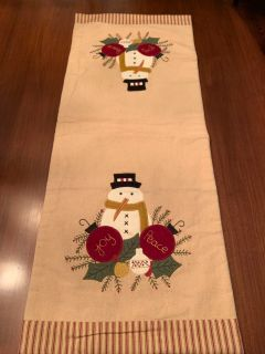 34.5 x 14 table runner