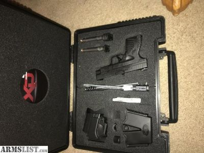 For Sale: Springfield 9mm xds 4.0