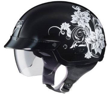 Buy HJC IS-2 Blossom Open Face Half Shell Motorcycle Helmet Pink Size X-Small motorcycle in South Houston, Texas, US, for US $98.99
