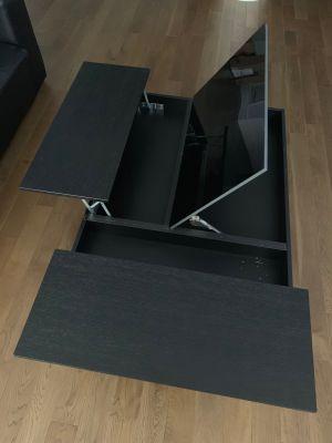 Chiva Modern Pop Up Hidden Storage Coffee Table