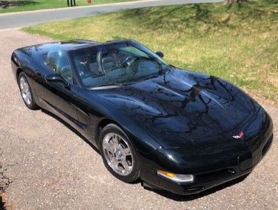 PRICE REDUCED - Black on Black 1999 Convertible