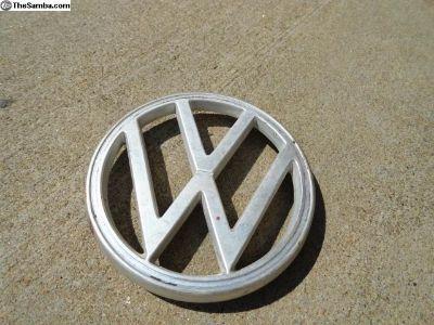 Volkswagen Beetle Front Hood Emblem